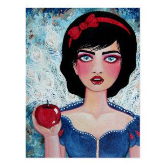 Apple rojo tarjetas postales