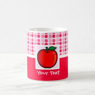Apple rojo tazas