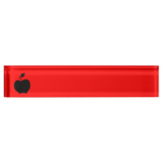 Apple rojo y negro
