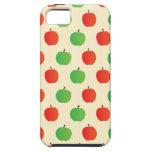 Apple rojo y verde modela iPhone 5 Case-Mate funda