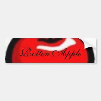 apple, Rotten Apple Bumper Stickers
