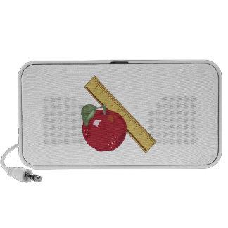 Apple & Ruler Notebook Speaker