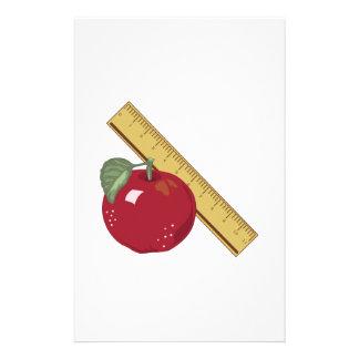 Apple & Ruler Stationery