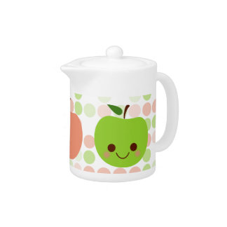 Apple Sass Tea Pot