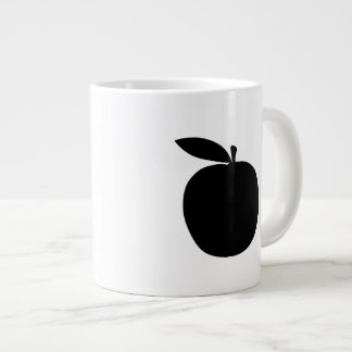 Apple Silhouette Large Coffee Mug