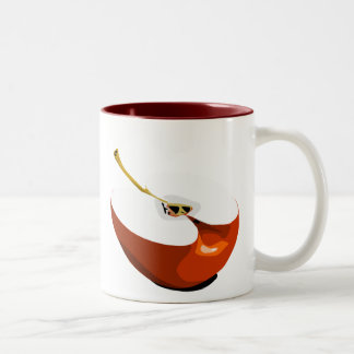 Apple slice mug