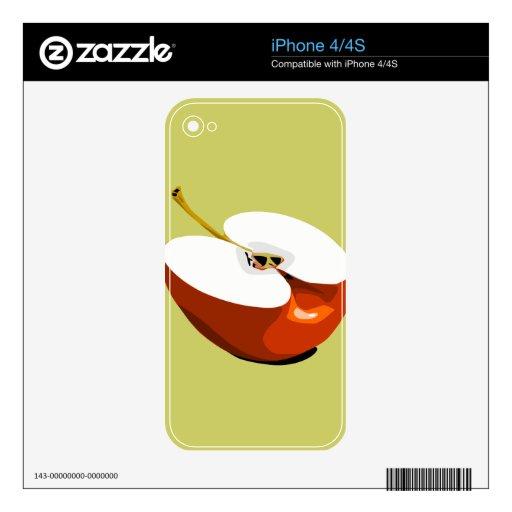 Apple slice phone skin iPhone 4 skin