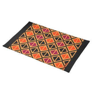 """Apple Slice"" placemat - multicolor #2 Cloth Placemat"