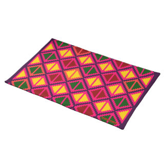 """Apple slice"" placemat - multicolored #1"