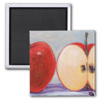 Apple Sliced Fridge Magnets