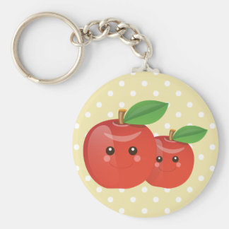 Apple Smiles Keychain