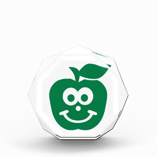 Apple smiling face award
