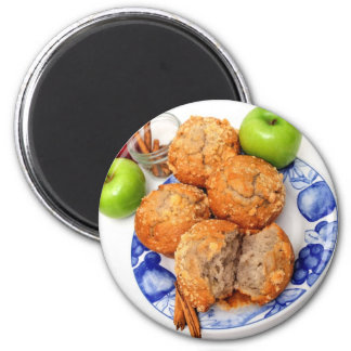 Apple Spice Muffin Magnet
