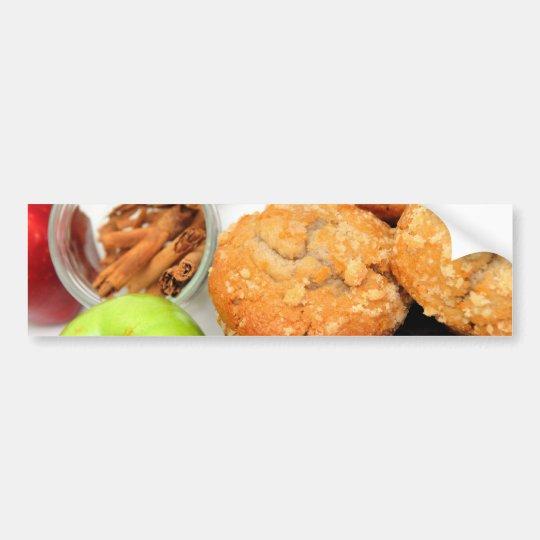 Apple Spice Muffins Bumper Sticker