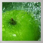 Apple Splash Posters