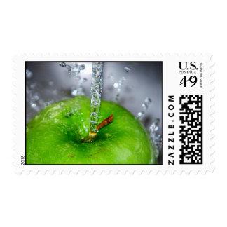 Apple Splash Stamp