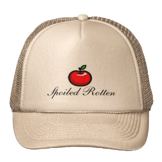 apple, Spoiled Rotten Hat