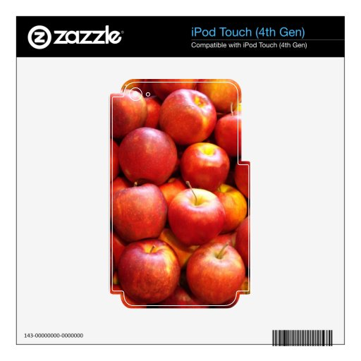 Apple Stand iPod Touch 4G Decal