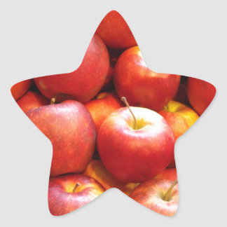 Apple Stand Star Sticker