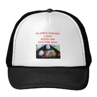APPLE strudel Trucker Hat