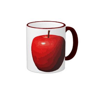 Apple Taza De Dos Colores
