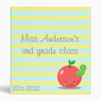 apple teacher binder