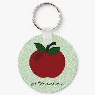 Apple Teacher Collection keychain