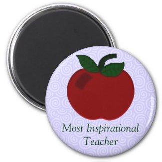 Apple Teacher Collection magnet