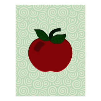 Apple Teacher Collection Postcard
