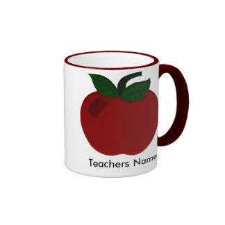 Apple Teacher Collection Ringer Mug