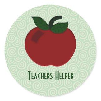 Apple Teacher Collection sticker