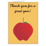 Apple, Thank you for a great year! Card