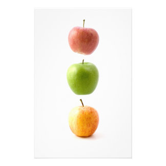 Apple Time Stationery Paper