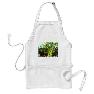 Apple tree adult apron
