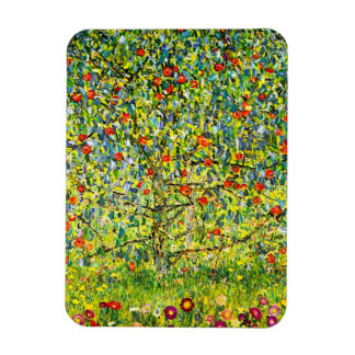 Apple Tree and Flowers Magnet
