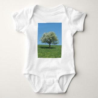 apple tree baby bodysuit