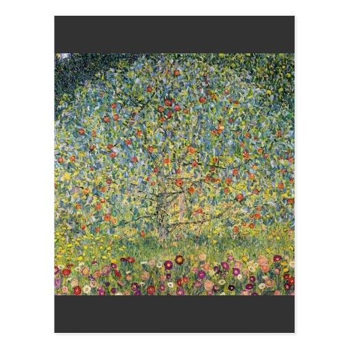 Apple Tree by Gustav Klimt Post Cards