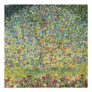 Apple Tree by Gustav Klimt Vintage Art Nouveau Invitations