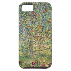 Apple Tree by Gustav Klimt, Vintage Art Nouveau iPhone SE/5/5s Case