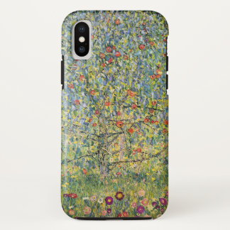 Apple Tree by Gustav Klimt, Vintage Art Nouveau iPhone X Case