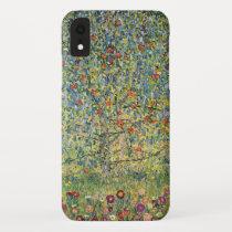 Apple Tree by Gustav Klimt, Vintage Art Nouveau iPhone XR Case