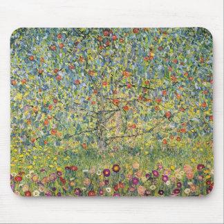 Apple Tree by Gustav Klimt, Vintage Art Nouveau Mouse Pad