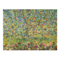 Apple Tree by Gustav Klimt, Vintage Art Nouveau Postcard