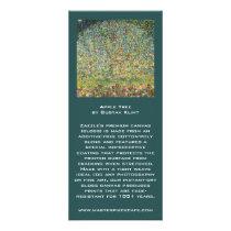 Apple Tree by Gustav Klimt, Vintage Art Nouveau Rack Card Template