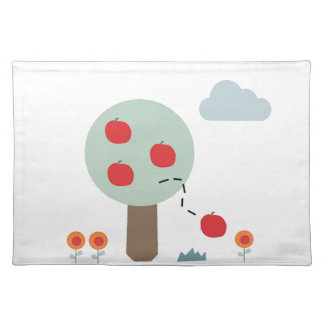 Apple Tree Cloth Placemat