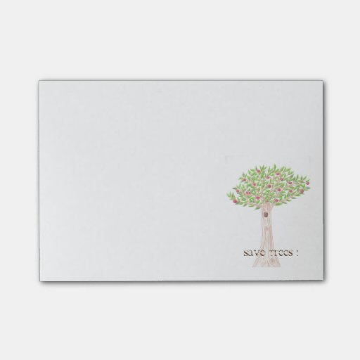 Apple tree , Earth Day small Notes