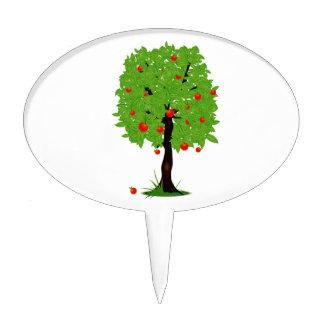 apple tree ecology design.png cake topper