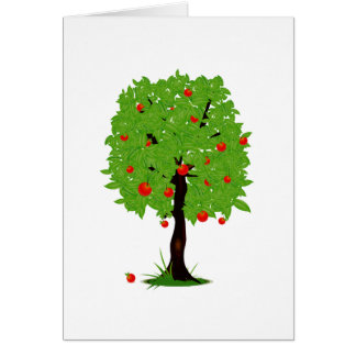 apple tree ecology design png cards