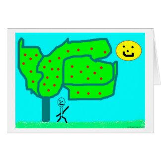 Apple Tree Greeting Cards