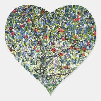 Apple Tree, I cool Heart Sticker
